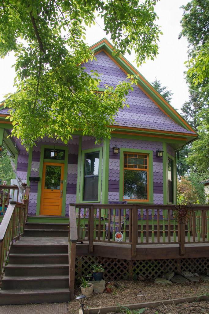 見るからに茄子!な、eggplant house